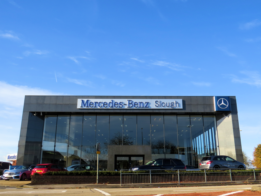 Postcards From Slough Mercedes Benz Slough
