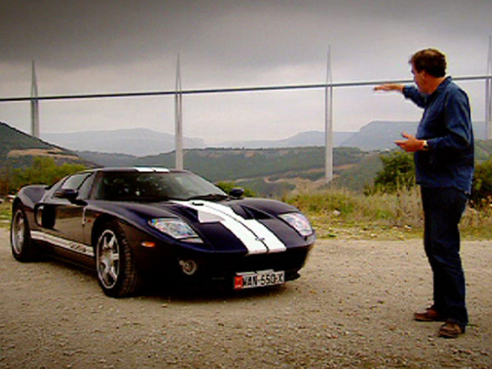 Clarkson Ran Out Of Money Filling His Ford Gt With Fuel And Had To Borrow Off James May